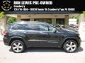 Brilliant Black Crystal Pearl 2014 Jeep Grand Cherokee Limited 4x4