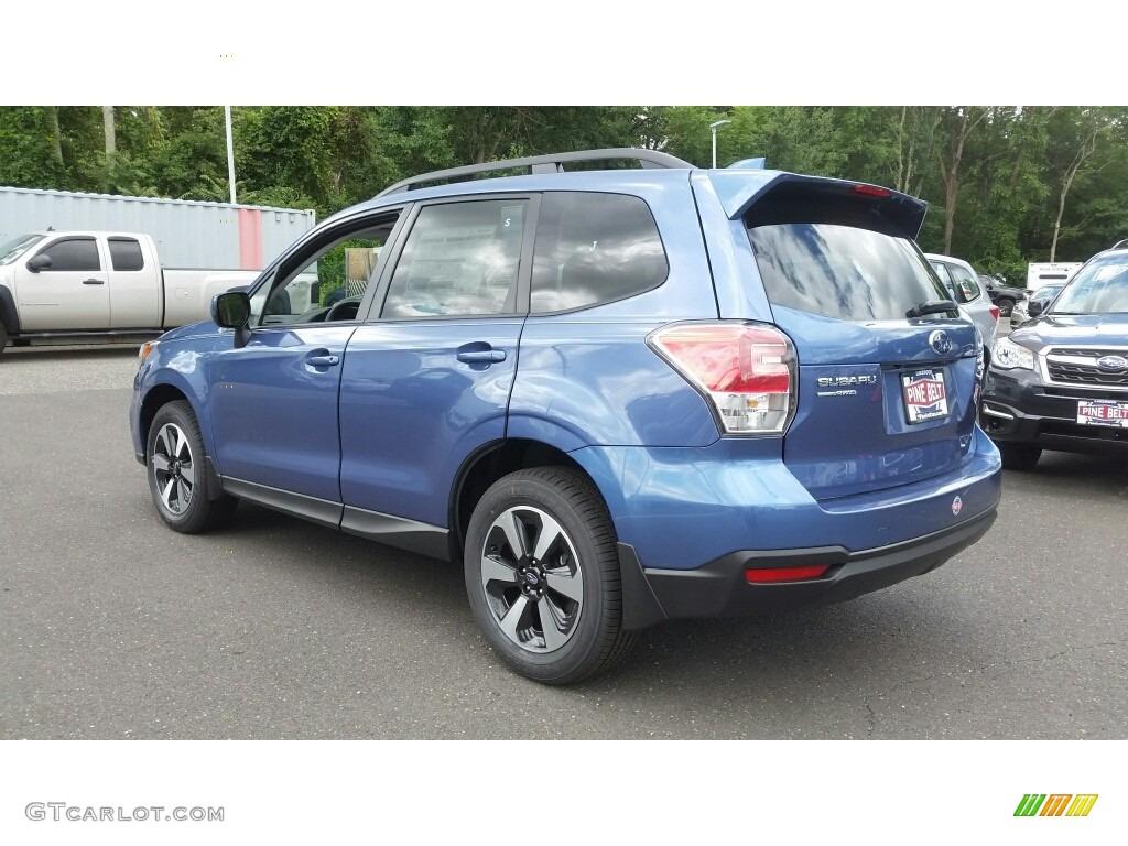 2017 Quartz Blue Pearl Subaru Forester 2.5i Premium ...
