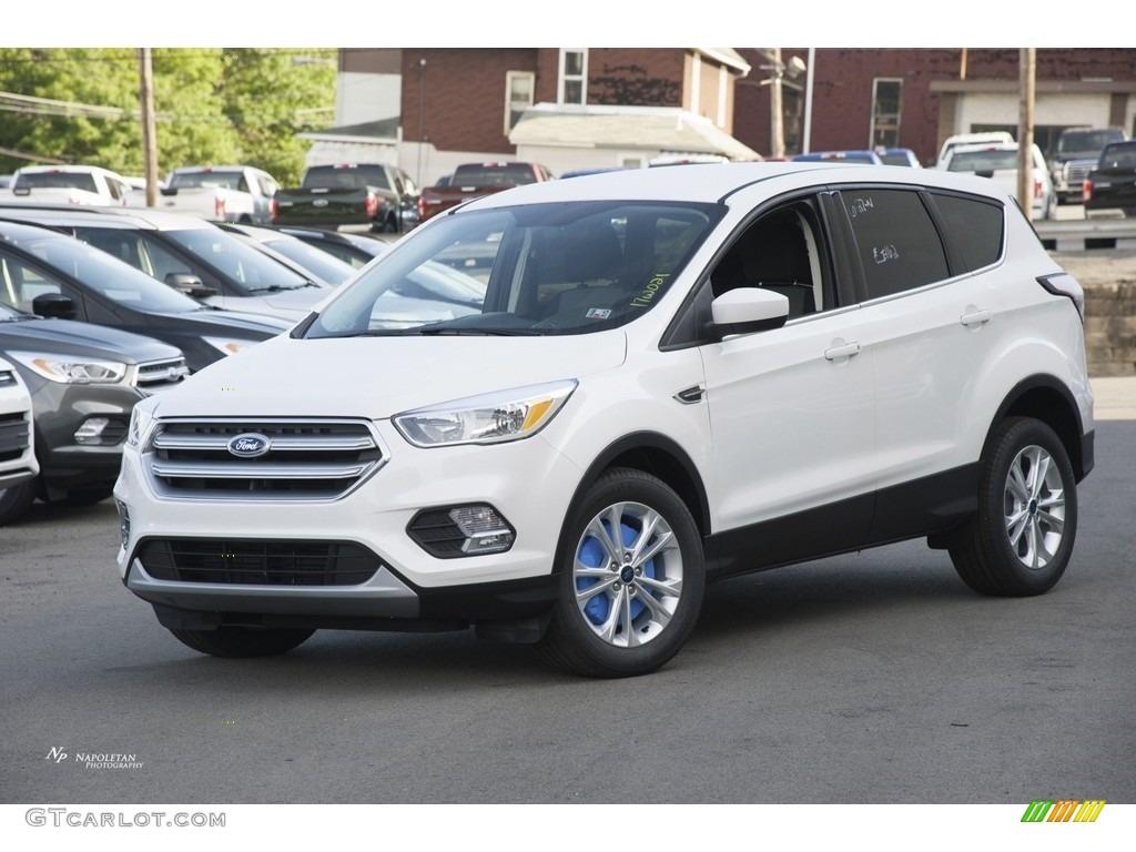 2017 white platinum ford escape se 114301450 photo 3