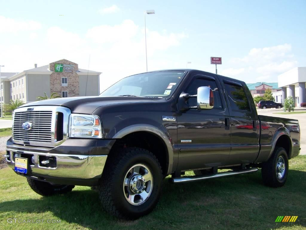 2006 dark stone metallic ford f250 super duty fx4 crew cab. Black Bedroom Furniture Sets. Home Design Ideas