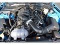 2017 Grabber Blue Ford Mustang V6 Coupe  photo #12