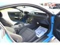 2017 Grabber Blue Ford Mustang V6 Coupe  photo #21