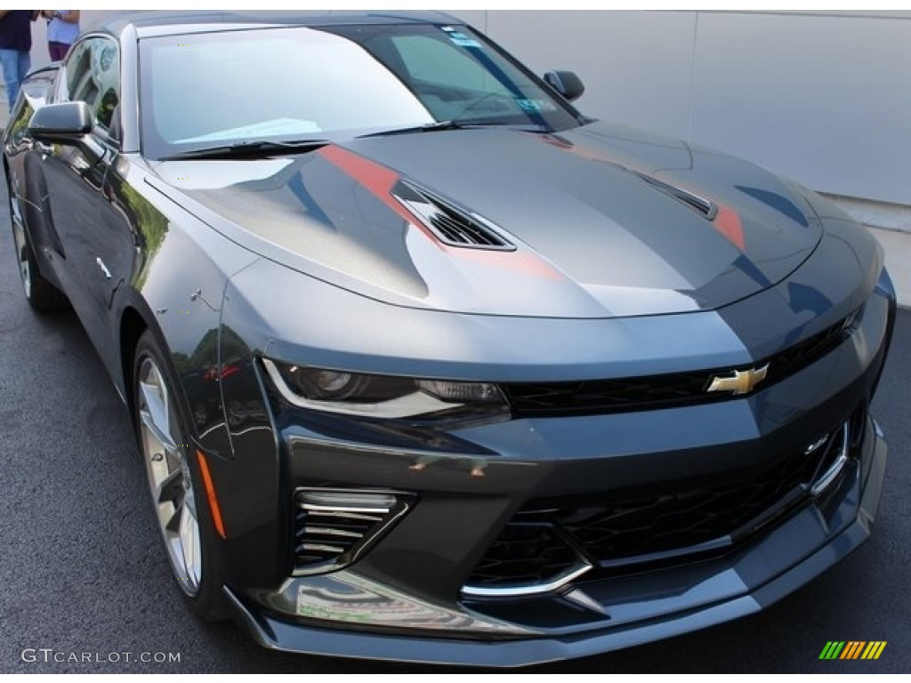 Nightfall Gray Metallic Chevrolet Camaro