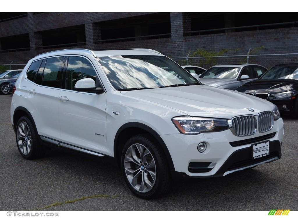 2016 alpine white bmw x3 xdrive28i 114326463 car color galleries. Black Bedroom Furniture Sets. Home Design Ideas