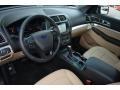 Medium Light Camel Prime Interior Photo for 2017 Ford Explorer #114348831
