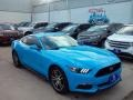 2017 Grabber Blue Ford Mustang Ecoboost Coupe  photo #3