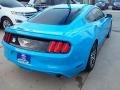 2017 Grabber Blue Ford Mustang Ecoboost Coupe  photo #30