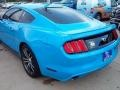 2017 Grabber Blue Ford Mustang Ecoboost Coupe  photo #32
