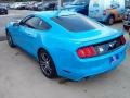 2017 Grabber Blue Ford Mustang Ecoboost Coupe  photo #33