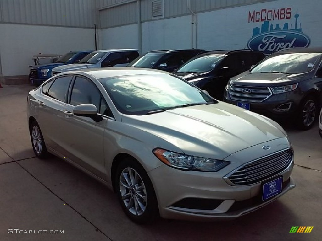 White Gold Ford Fusion