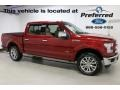 Ruby Red - F150 Lariat SuperCrew 4x4 Photo No. 1