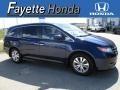 Obsidian Blue Pearl 2014 Honda Odyssey EX-L