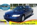 2002 Eternal Blue Pearl Honda Accord VP Sedan #114381917