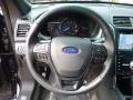 Ebony Black Steering Wheel Photo for 2017 Ford Explorer #114413665