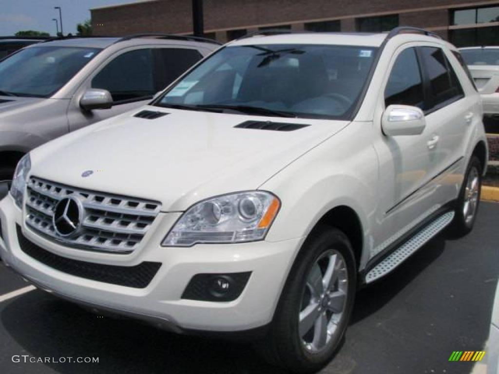 2009 arctic white mercedes benz ml 350 4matic 11418261 for Mercedes benz ml 350 2009