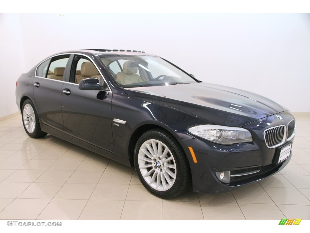 2012 imperial blue metallic bmw 5 series 535i xdrive sedan. Black Bedroom Furniture Sets. Home Design Ideas