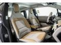 2016 BMW i3 Giga Cassia Natural Leather/Carum Spice Grey Wool Cloth Interior Front Seat Photo
