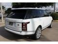 2016 Fuji White Land Rover Range Rover HSE  photo #10