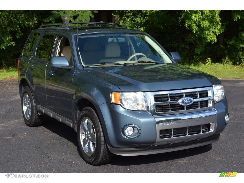2010 steel blue metallic ford escape limited v6 114462039 car color galleries. Black Bedroom Furniture Sets. Home Design Ideas