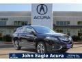 Crystal Black Pearl 2017 Acura RDX Advance