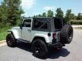 2011 Bright Silver Metallic Jeep Wrangler Sahara 70th Anniversary 4x4  photo #5