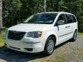 Stone White 2009 Chrysler Town & Country Limited
