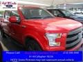 2016 Race Red Ford F150 Lariat SuperCrew 4x4  photo #1