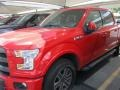 2016 Race Red Ford F150 Lariat SuperCrew 4x4  photo #2