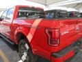 2016 Race Red Ford F150 Lariat SuperCrew 4x4  photo #5