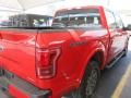 2016 Race Red Ford F150 Lariat SuperCrew 4x4  photo #9