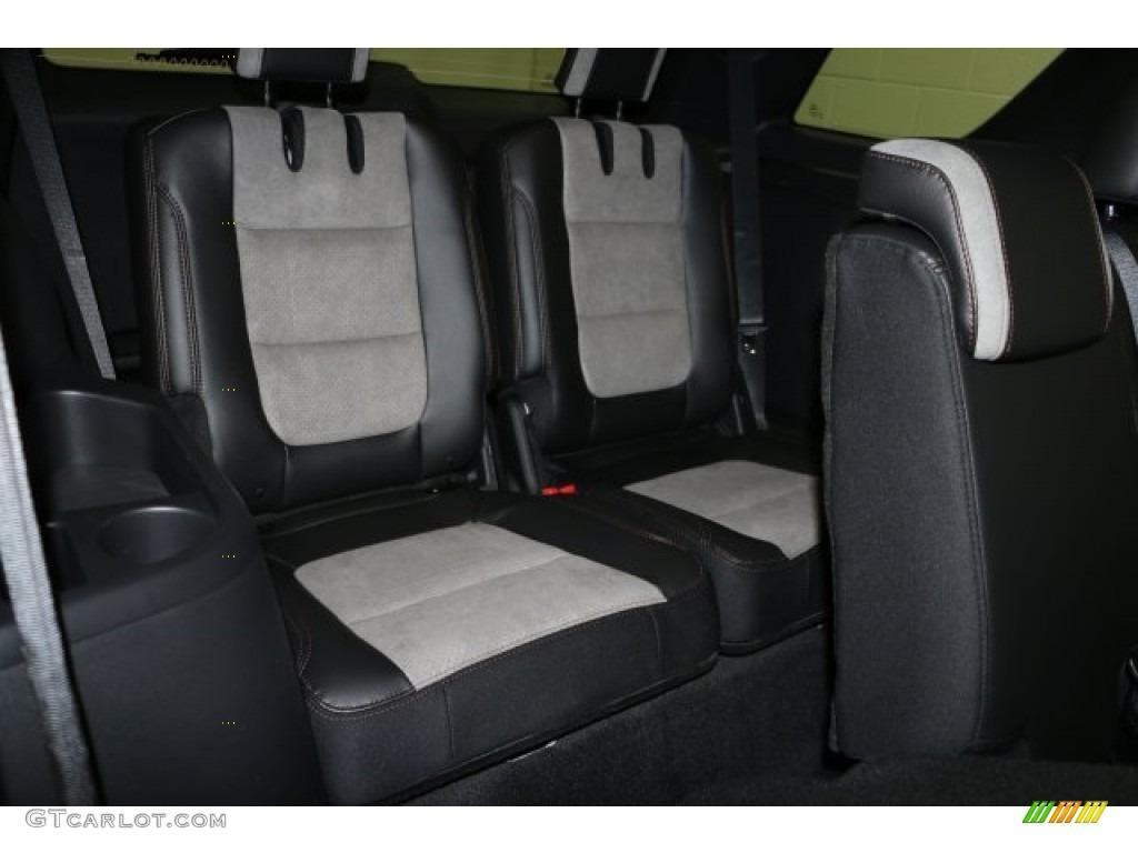 Sport Appearance Dark Earth Gray Interior 2017 Ford Explorer Xlt 4wd