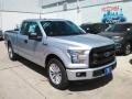 Ingot Silver 2016 Ford F150 XL SuperCab