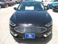 2017 Shadow Black Ford Fusion Titanium  photo #6
