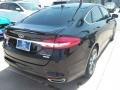 2017 Shadow Black Ford Fusion Titanium  photo #13