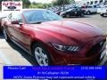2017 Ruby Red Ford Mustang V6 Coupe #114517701