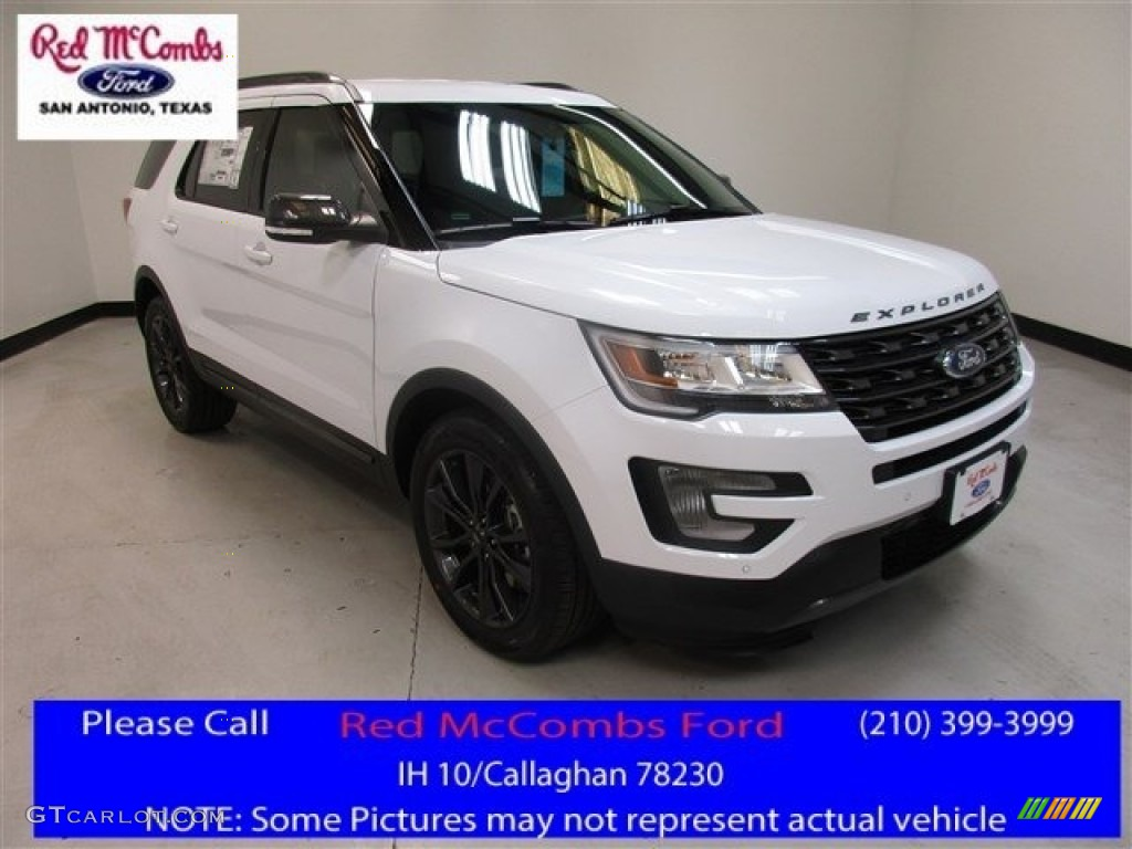 2017 Oxford White Ford Explorer Xlt 114517696 Gtcarlot Com Car