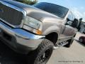 2002 Dark Shadow Grey Metallic Ford F250 Super Duty Lariat Crew Cab 4x4  photo #31