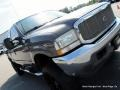 2002 Dark Shadow Grey Metallic Ford F250 Super Duty Lariat Crew Cab 4x4  photo #32