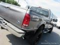 2002 Dark Shadow Grey Metallic Ford F250 Super Duty Lariat Crew Cab 4x4  photo #33