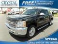 2013 Black Chevrolet Silverado 1500 LT Crew Cab 4x4 #114544727