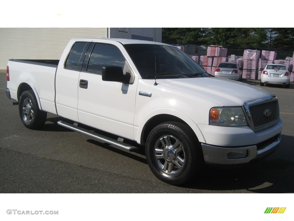 2004 oxford white ford f150 lariat supercab 114544488. Black Bedroom Furniture Sets. Home Design Ideas