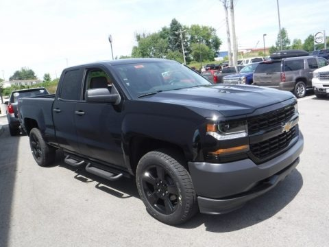 2016 Chevrolet Silverado 1500 Special Ops Edition Double Cab 4x4 Data, Info and Specs