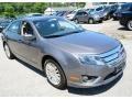 2011 Sterling Grey Metallic Ford Fusion Hybrid  photo #3