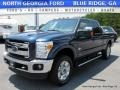 2016 Blue Jeans Metallic Ford F250 Super Duty King Ranch Crew Cab 4x4 #114571068