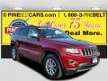 Deep Cherry Red Crystal Pearl 2014 Jeep Grand Cherokee Limited 4x4