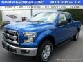 Blue Flame 2016 Ford F150 XLT SuperCab 4x4