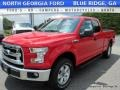 2016 Race Red Ford F150 XLT SuperCab 4x4  photo #1