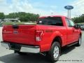 2016 Race Red Ford F150 XLT SuperCab 4x4  photo #5