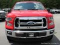 2016 Race Red Ford F150 XLT SuperCab 4x4  photo #8