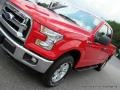2016 Race Red Ford F150 XLT SuperCab 4x4  photo #28